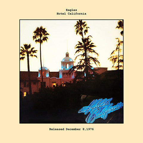 Eagles   hotel california album cover  1976
