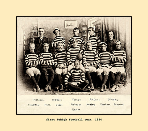 first lehigh football team  1884