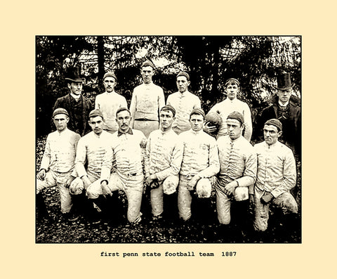 first penn state football team  1887