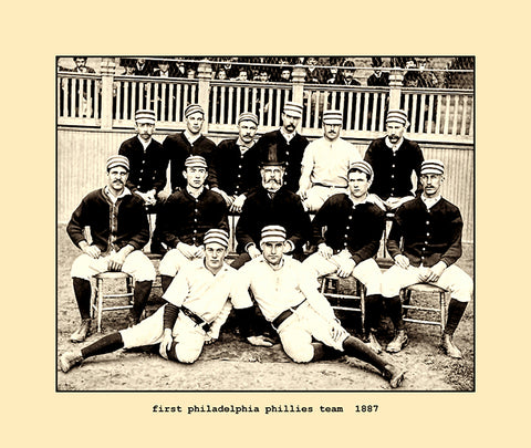 first philadelphia phillies team  1887