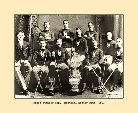 first stanley cup, montreal hockey club  1893
