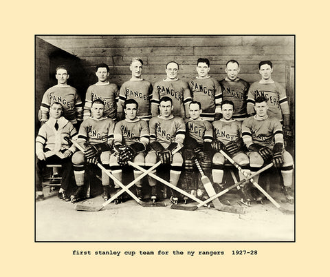 first stanley cup team for the ny rangers  1927-28