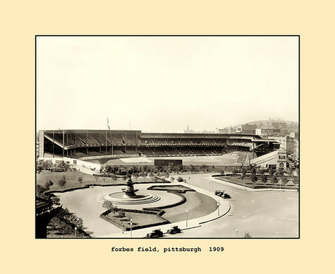 forbes field, pittsburgh  1909