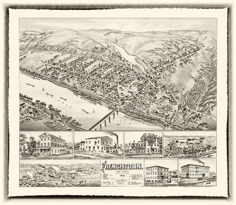 Frenchtown  1883
