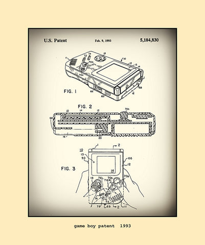game boy patent  1993