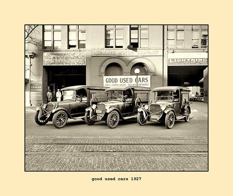 good used cars  1927
