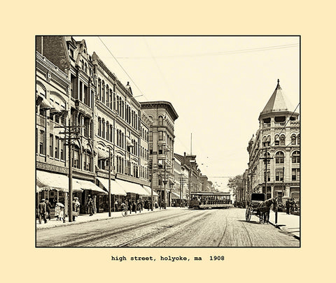 high street, holyoke, ma  1908