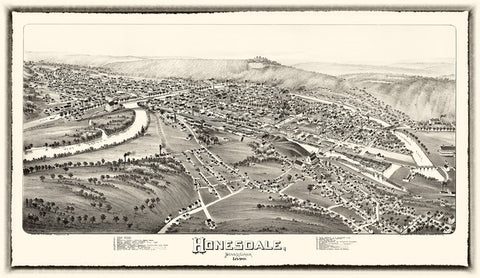 Honesdale  1890