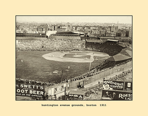 huntington ave grounds, boston  1911