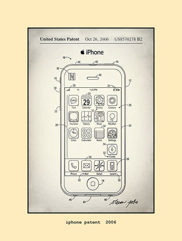 iphone patent  2006