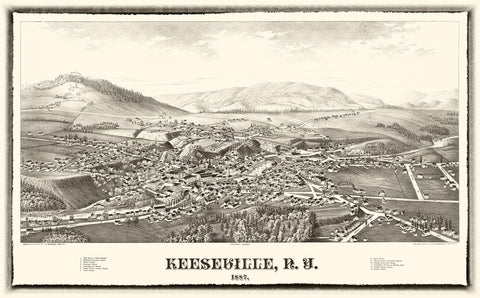 Keeseville  1887