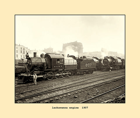 lackawanna engine  1907