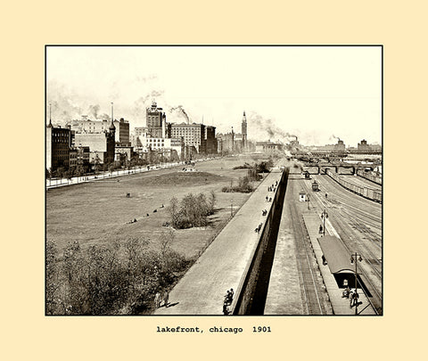lakefront, chicago  1901