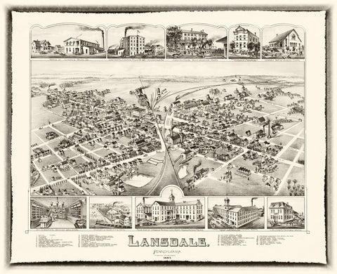 Lansdale  1885