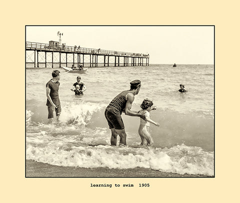 learning to swim  1905