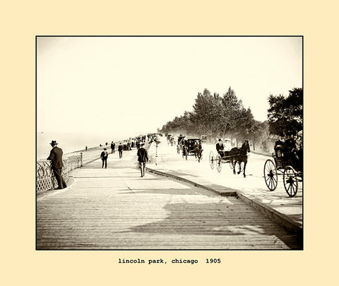 lincoln park, chicago  1905
