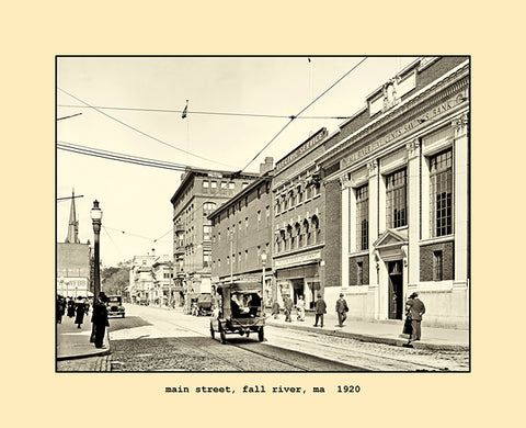 main street, fall river, ma  1920