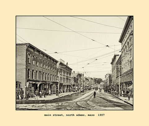 main street, north adams, ma  1907