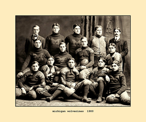 michigan wolverines  1900
