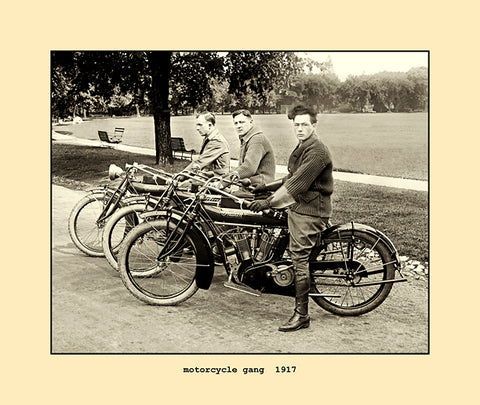 motorcycle gang  1917