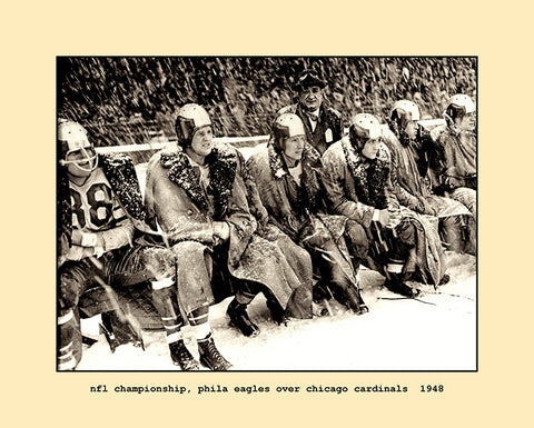 nfl championship, eagles over chicago cardinals  1948