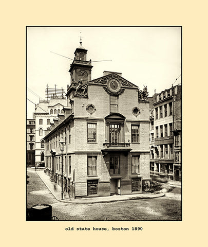 old state house, boston  1890