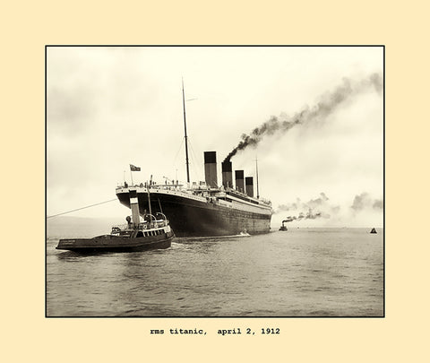 rms titanic  april 2, 1912