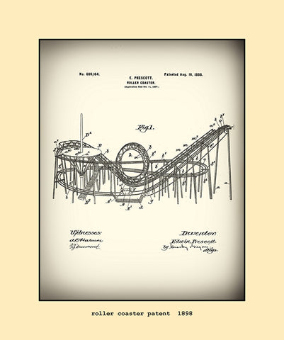 roller coaster patent  1898