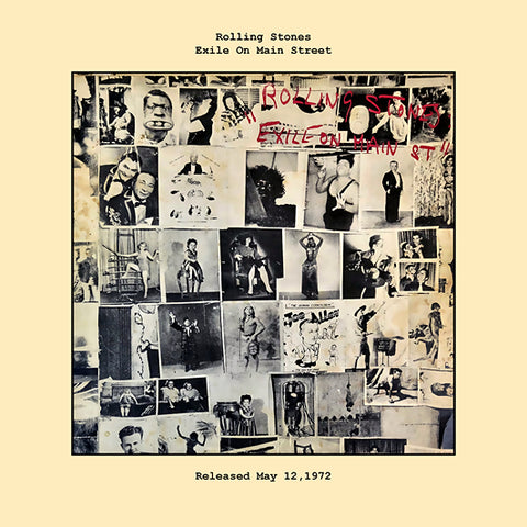 Rolling Stones   exile on main street album cover  1972