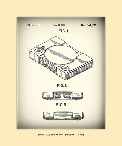 sony playstation patent  1996