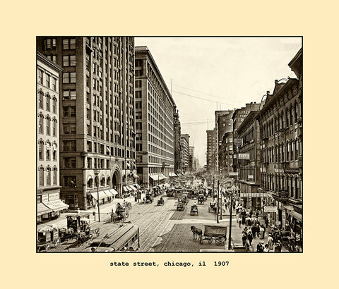 state street, chicago  1907