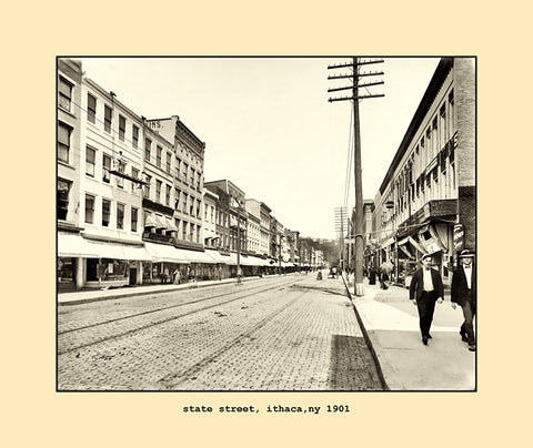 state street, ithaca, ny  1901
