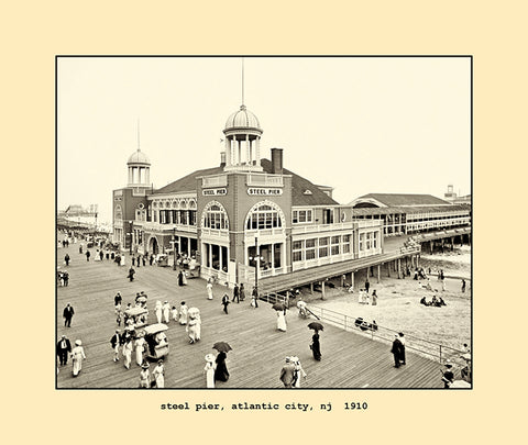 steel pier, atlantic city, nj  1910
