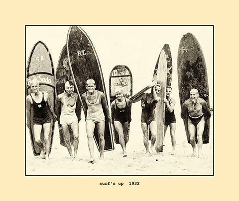 surf's up  1932