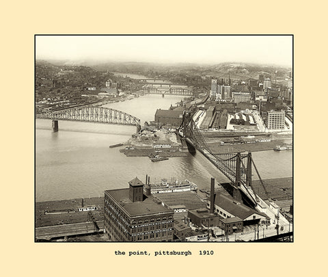 the point, pittsburgh  1910