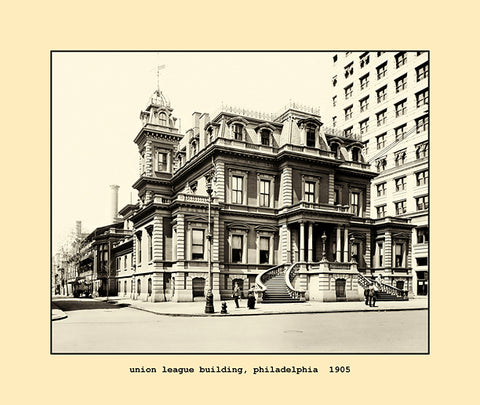 union league building, philadelphia  1905