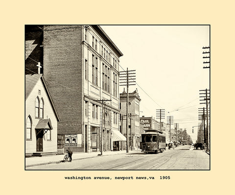 washington avenue, newport news, va  1905