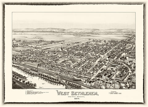 Bethlehem, West  1894
