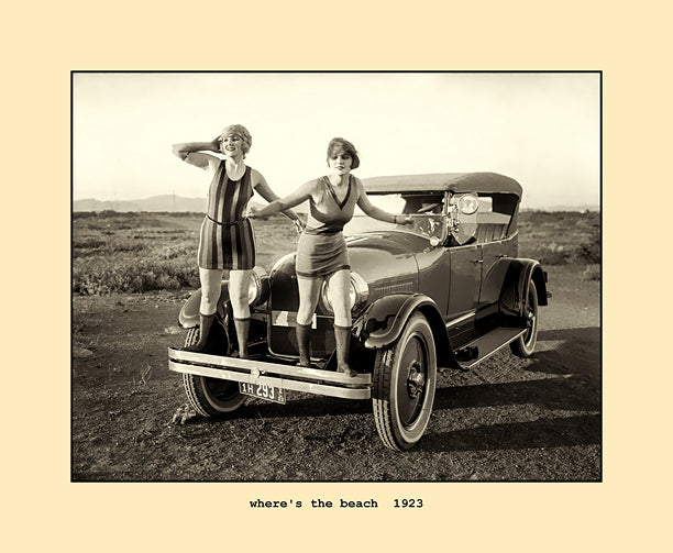 where's the beach  1923