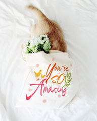Shop you're so amazing inspirational quote positive mindset organic eco friendly shopping grocery cotton shoulder Li-Jacobs® Lifestyle Concept Store