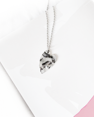 you're in my heart minimalist pendant necklace gift for her , Shop Li-Jacobs Lifestyle Concept Store