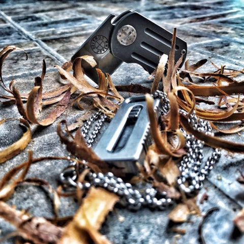 Ranger - Ultimate Tactical Titanium Key-chain Knife