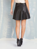Faux Leather Black Skirt Deby Debo DEBY DEBO- Here Now