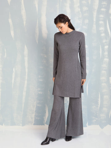 Deby Debo Maxi Grey Knit DEBY DEBO- Here Now