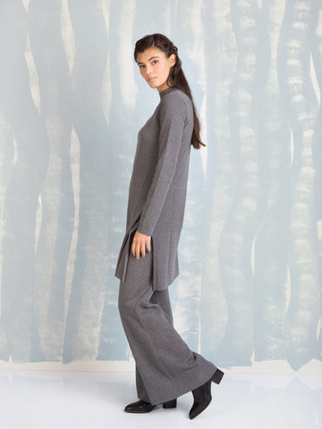 Deby Debo grey knit pants DEBY DEBO- Here Now