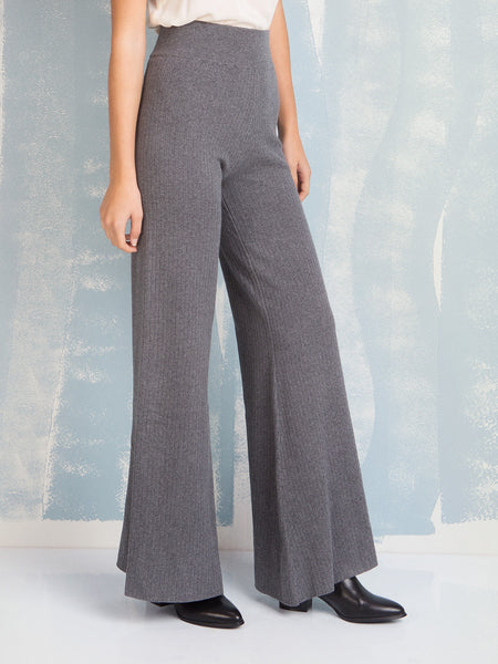 Pants Grey knit Deby Debo DEBY DEBO- Here Now