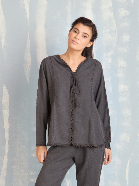 Blouse Grey for Women Deby Debo DEBY DEBO- Here Now
