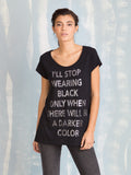 T Shirt Black Women With Glitter Fracomina Online Store Fracomina- Here Now