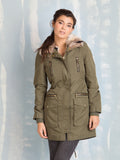 Winter Coats Military Parka Green Fracomina For Women Fracomina- Here Now