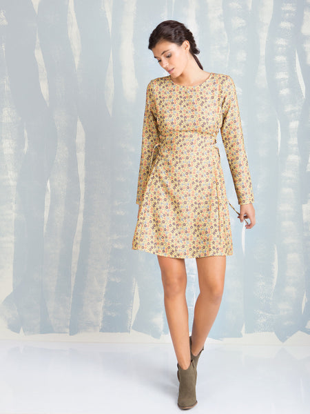 Dress Flower Power Coquelicot COQUELICOT- Here Now